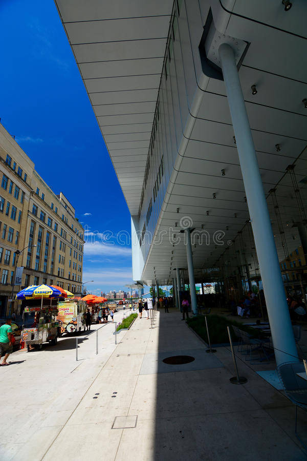 Nieuw Whitney Museum in NYC royalty-vrije stock foto's
