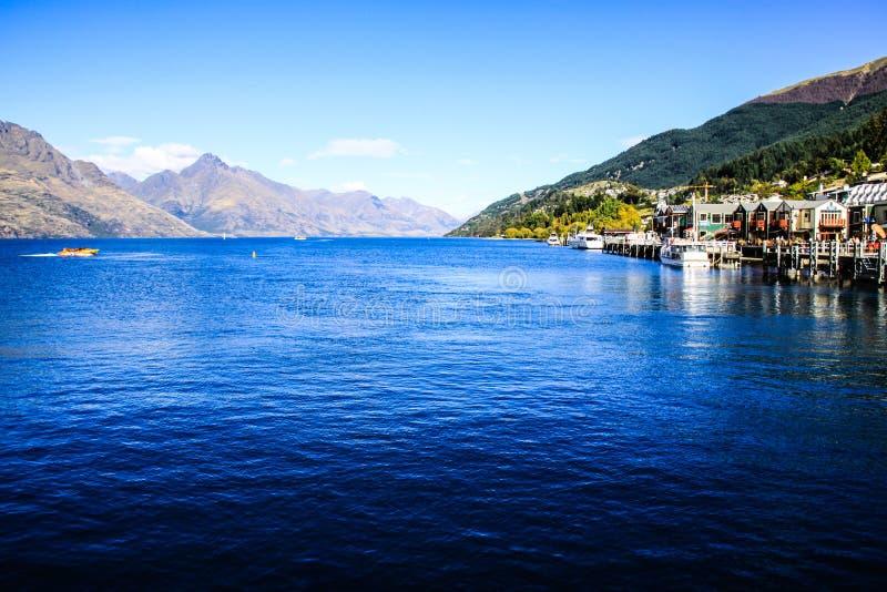Nieuw Zeeland in de zomer royalty-vrije stock fotografie
