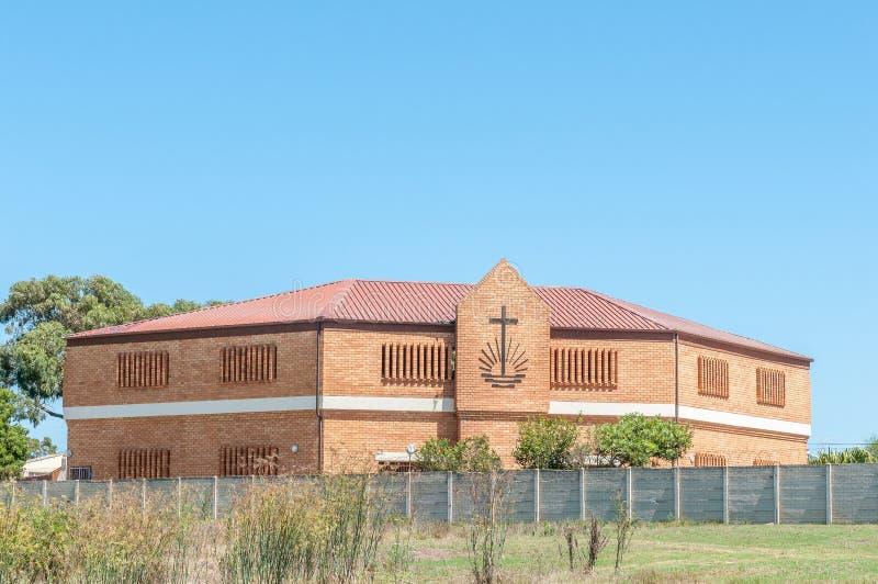 Nieuwe Apostolische Kerk in Jeffreys-Baai royalty-vrije stock fotografie