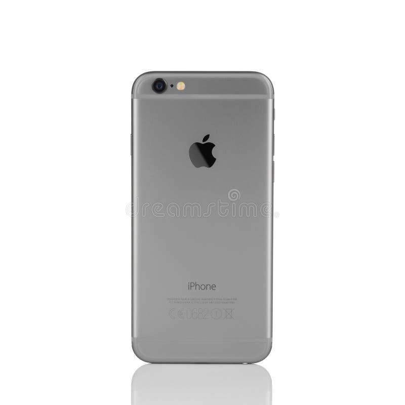 Nieuwe Apple-iPhone 6 Achterkant royalty-vrije stock foto's