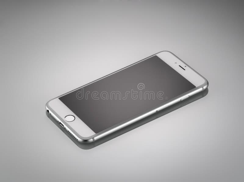 Nieuwe Apple-iPhone 6 plus Front Side royalty-vrije stock afbeelding