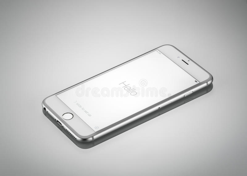 Nieuwe Apple-iPhone 6 plus Front Side royalty-vrije stock foto's