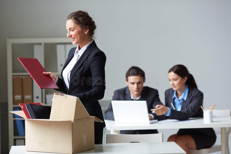Nieuwe arbeider royalty-vrije stock foto