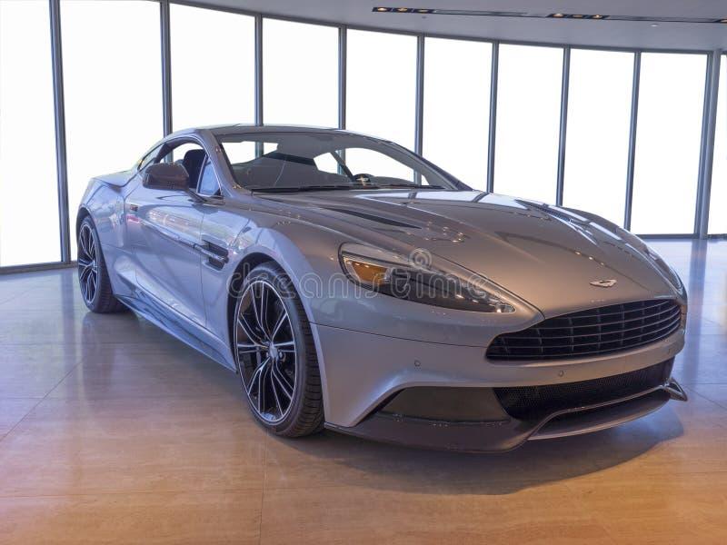 Nieuwe Aston Martin-auto Redactionele Stock Afbeelding