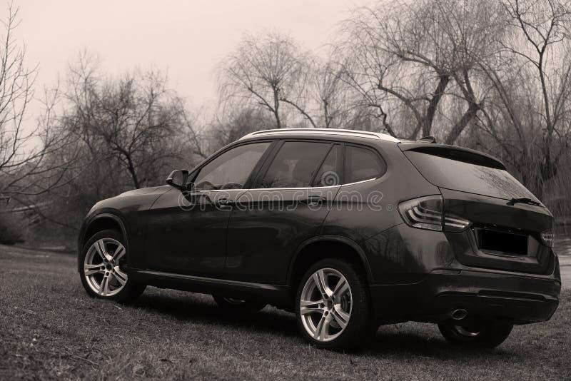 Nieuwe auto royalty-vrije stock foto's