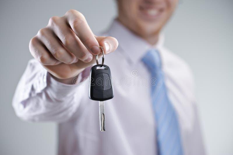 Nieuwe auto stock afbeelding