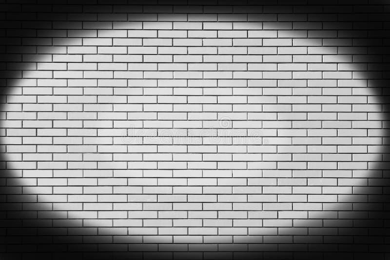 Nieuwe bakstenen muur in een achtergrond royalty-vrije stock afbeelding