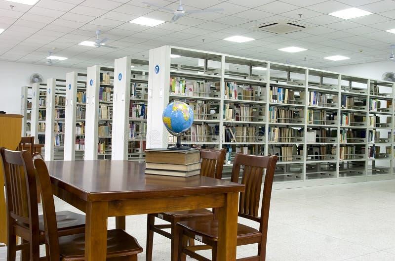 Nieuwe bibliotheek stock afbeeldingen