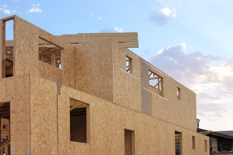 Nieuwe bouwwerf stock foto
