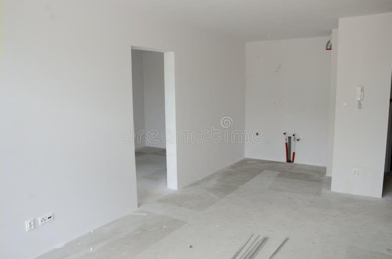 Nieuwe flats in Polen royalty-vrije stock afbeelding