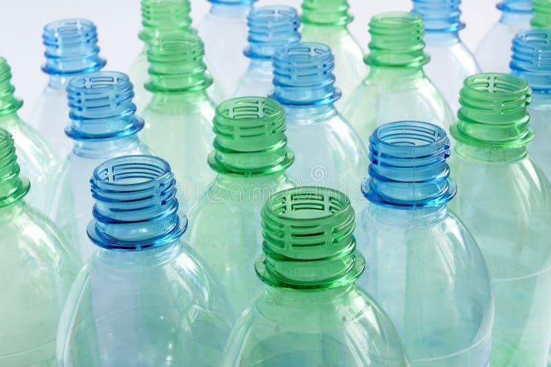 Nieuwe flessen stock foto