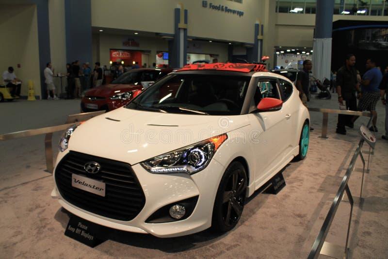 Nieuwe het conceptenauto 2 van Hyundai royalty-vrije stock fotografie