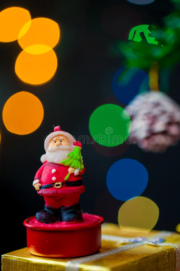 Nieuwe het jaardecoratie van Kerstmis royalty-vrije stock fotografie