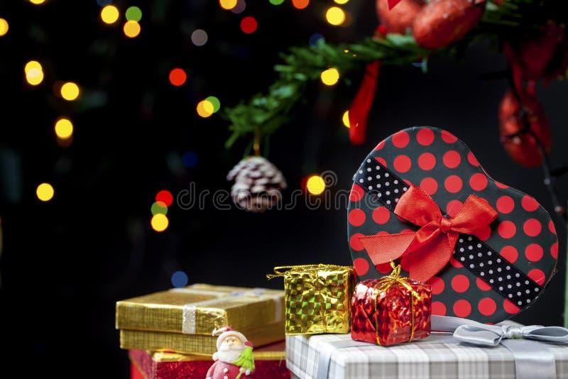 Nieuwe het jaardecoratie van Kerstmis stock afbeeldingen