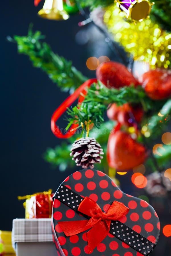 Nieuwe het jaardecoratie van Kerstmis stock afbeelding
