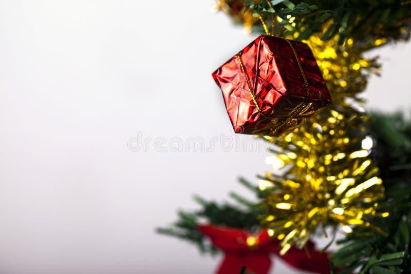Nieuwe het jaardecoratie van Kerstmis royalty-vrije stock afbeeldingen