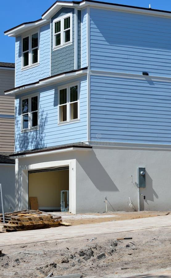 Nieuwe huisbouw in Florida royalty-vrije stock foto