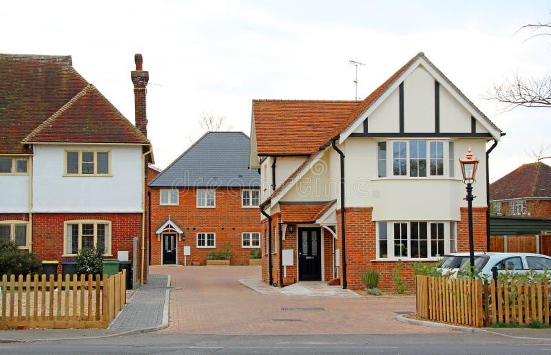 Nieuwe huisvesting aan de markt royalty-vrije stock afbeeldingen