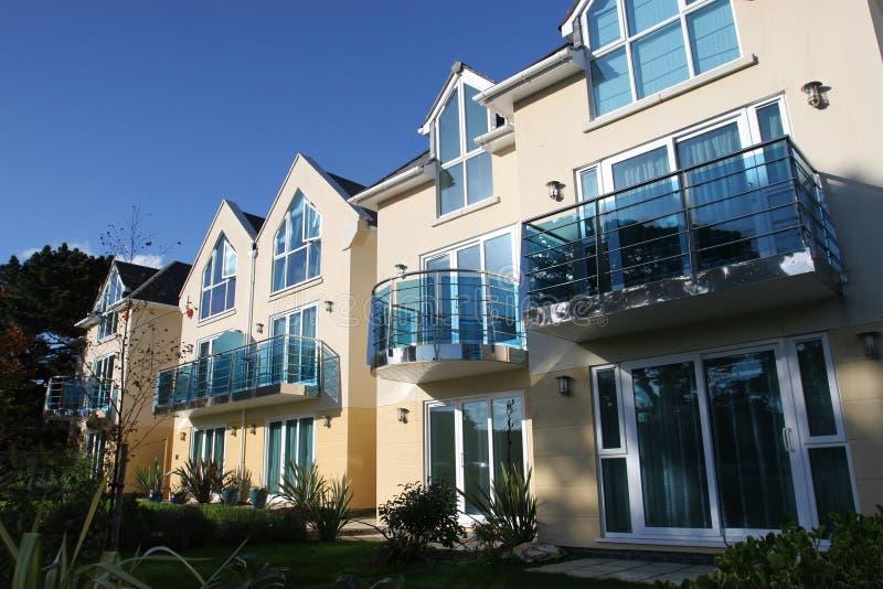 Nieuwe Huizen royalty-vrije stock afbeelding