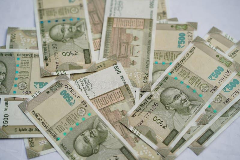Nieuwe Indiase valuta royalty-vrije stock fotografie