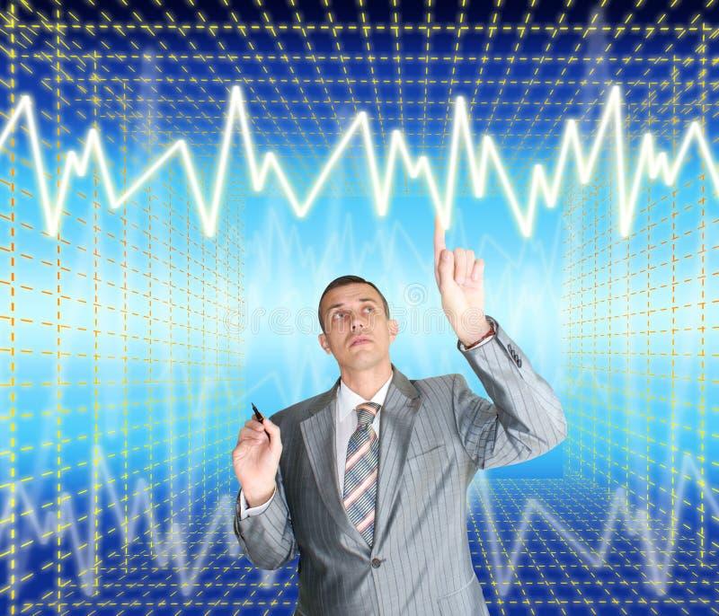 Nieuwe informatietechnologie royalty-vrije stock foto