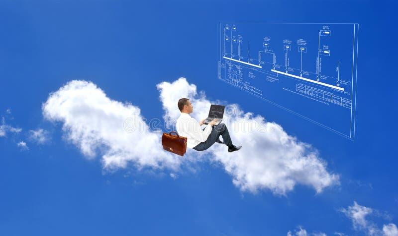 Nieuwe Internet technologie stock afbeelding