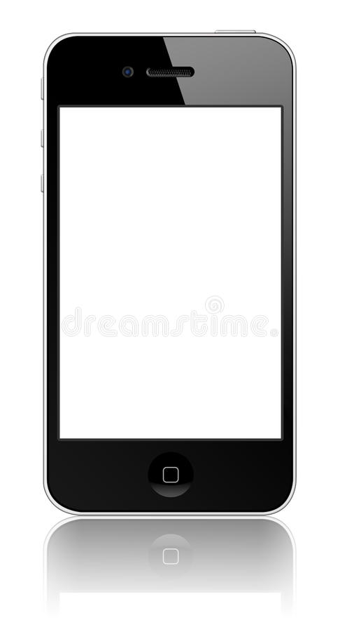 Nieuwe iPhone 4 van de Appel royalty-vrije stock afbeeldingen