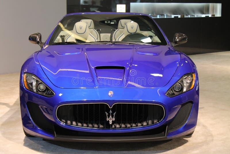 Nieuwe Italiaanse sportwagen royalty-vrije stock afbeelding