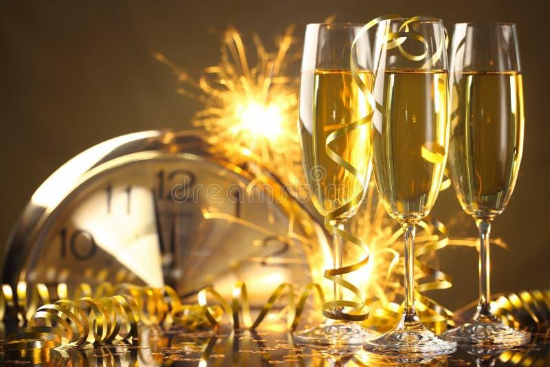 Nieuwe jaarviering stock afbeelding