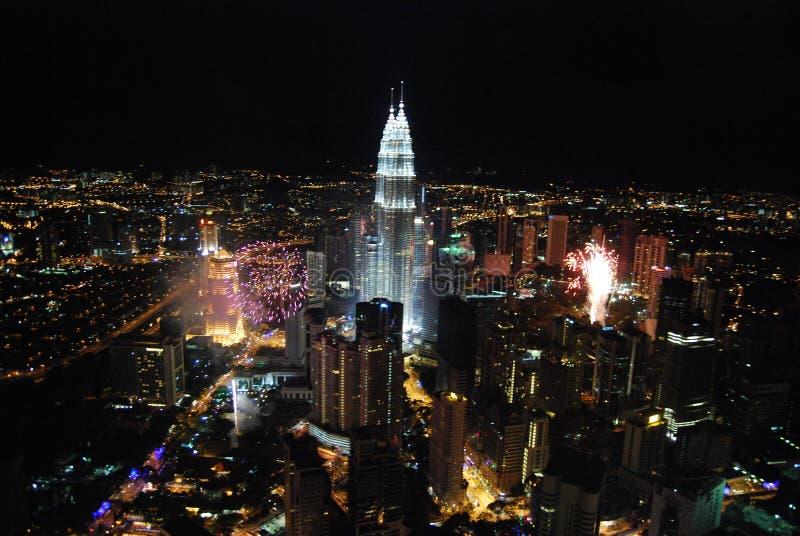 Nieuwe jaarviering stock fotografie