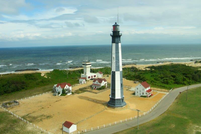 Nieuwe Kaap Henry Lighthouse stock fotografie