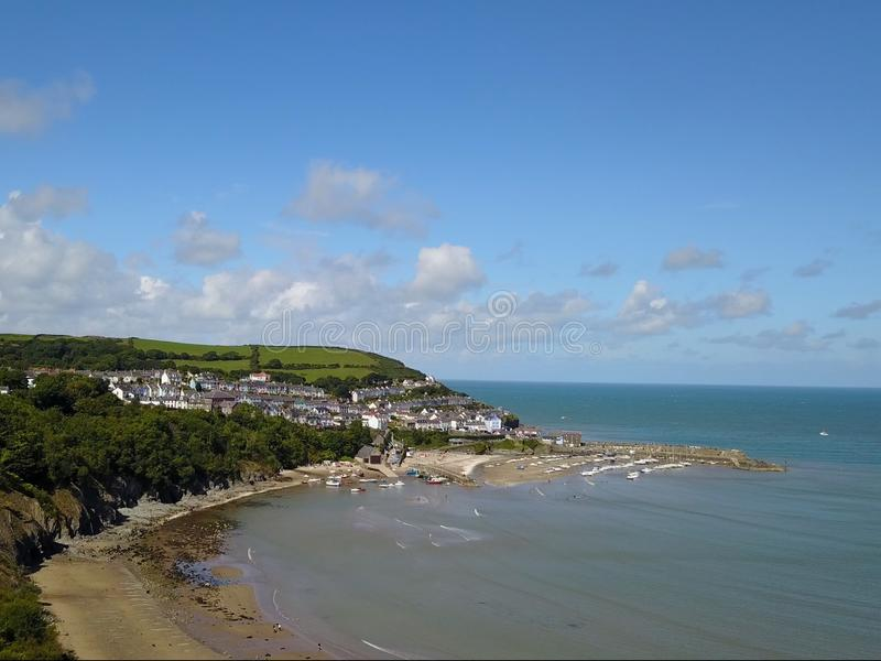 Nieuwe Kade Wales stock foto's
