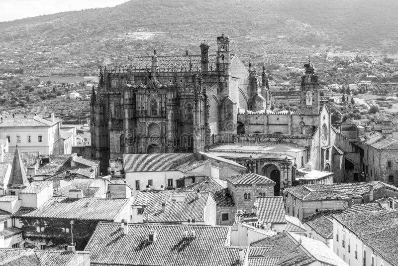 Nieuwe Kathedraal van Plasencia stock fotografie