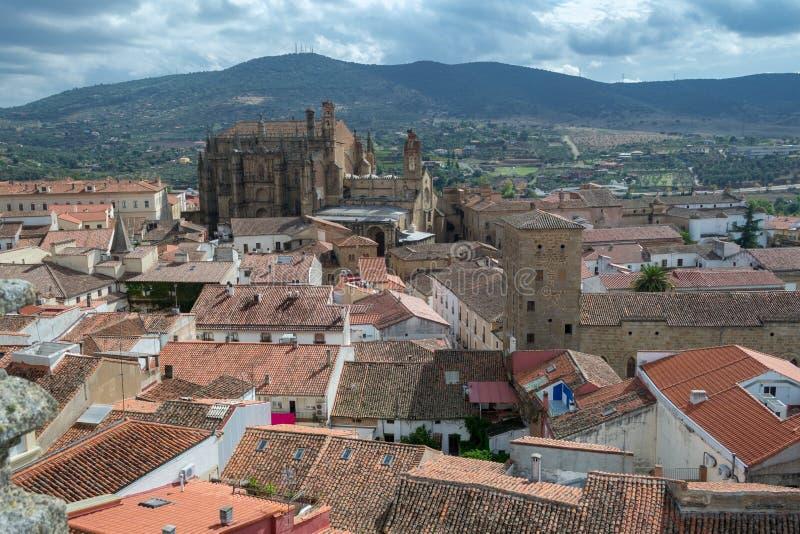 Nieuwe Kathedraal van Plasencia royalty-vrije stock foto's