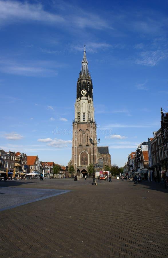 Nieuwe Kerk, Delft image libre de droits