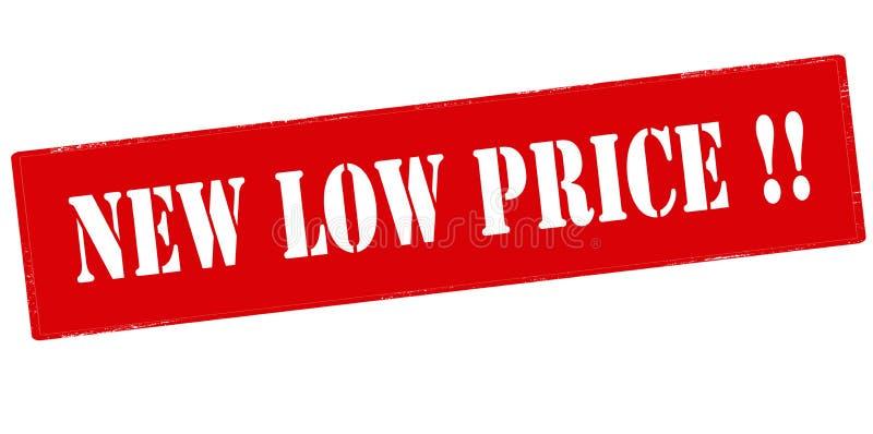 Nieuwe lage prijs vector illustratie
