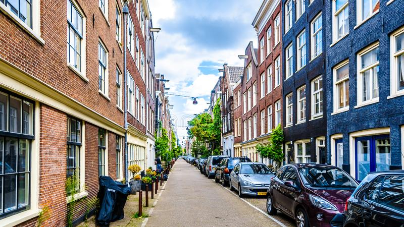 The Nieuwe Leliestraat in Amsterdam in the Netherlands royalty free stock photography