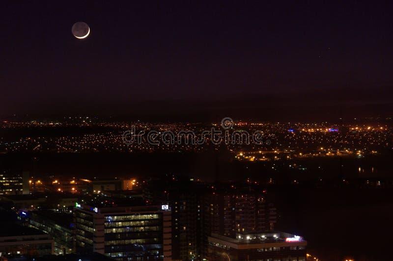 Nieuwe Maan stock foto's