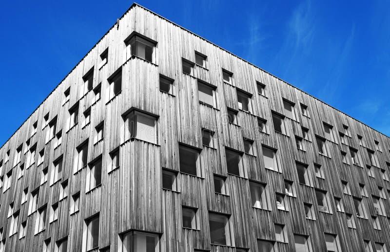 Nieuwe moderne architectenunversity in Umea royalty-vrije stock afbeeldingen