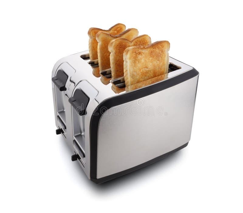 Nieuwe moderne broodrooster royalty-vrije stock afbeelding