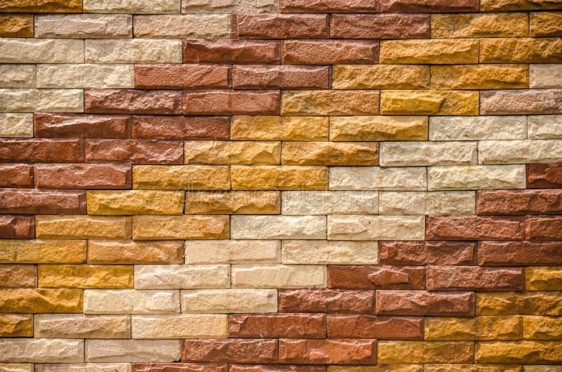 nieuwe moderne de muurachtergrond van de steentextuur royalty-vrije stock fotografie