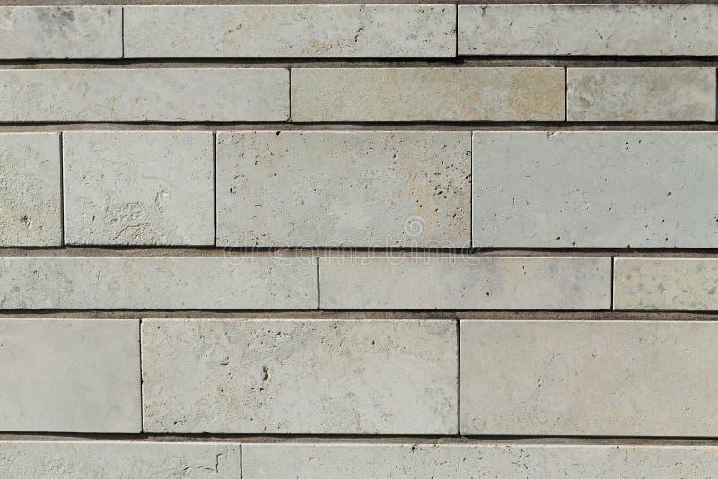 Nieuwe moderne de muurachtergrond van de textuursteen royalty-vrije stock fotografie