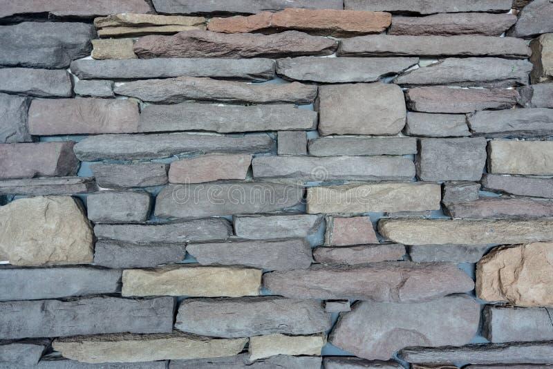 Nieuwe moderne de textuurachtergrond van de steenmuur royalty-vrije stock foto