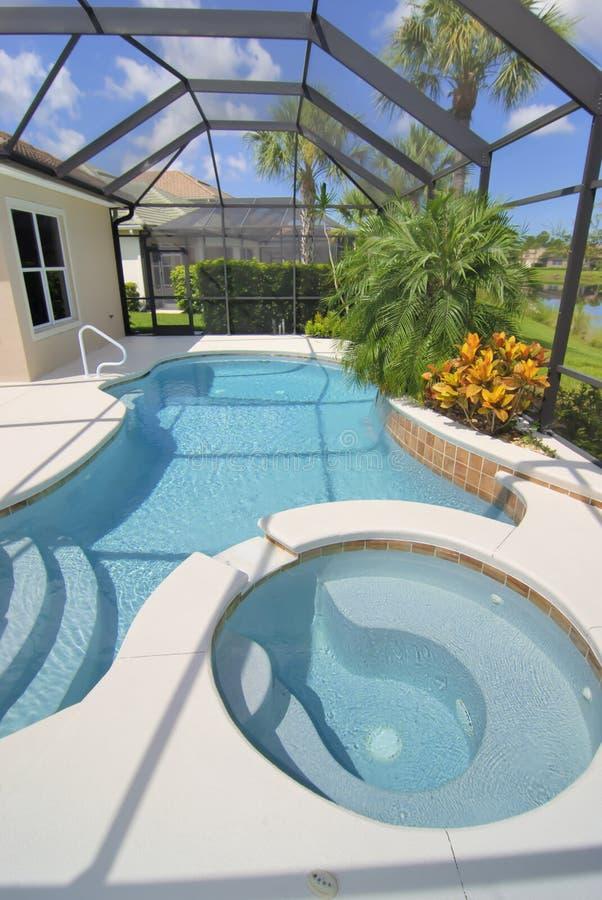 Nieuwe pool royalty-vrije stock foto