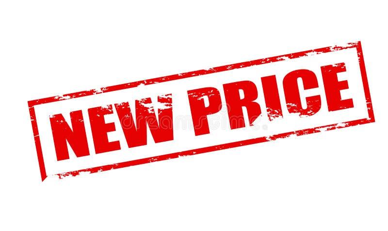 Nieuwe prijs stock illustratie