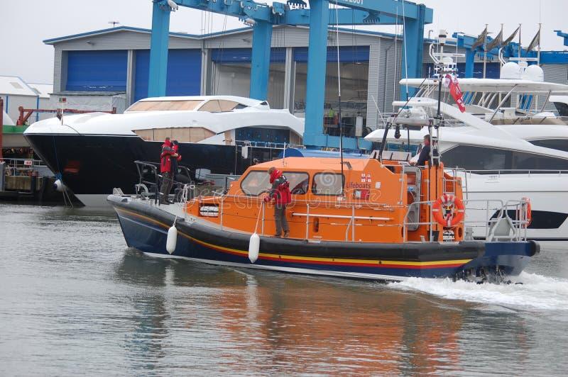 Nieuwe Reddingsboot royalty-vrije stock afbeelding