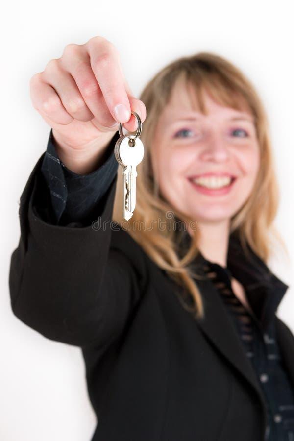 Nieuwe sleutels royalty-vrije stock afbeelding