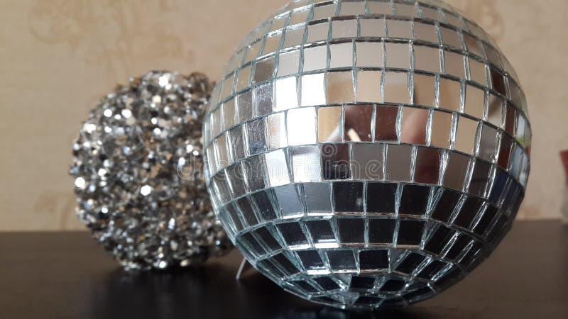 Nieuwe Spiegelballen royalty-vrije stock afbeelding
