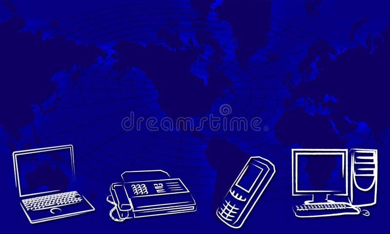 Nieuwe technologie royalty-vrije illustratie