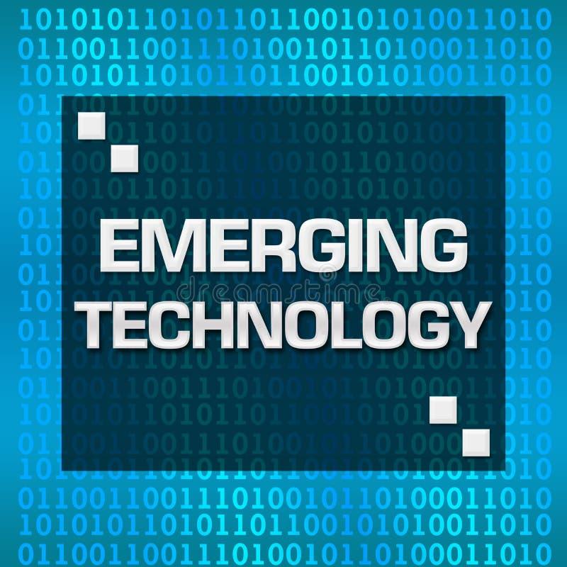 Nieuwe Technologie Binaire Achtergrond royalty-vrije illustratie